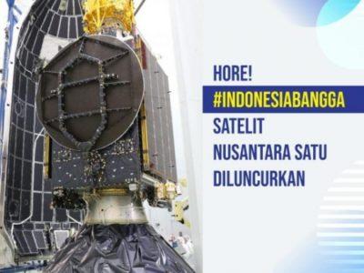 Satelit Nusantara Satu Bantu Kurangi Kesenjangan Akses Internet