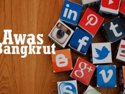 Kebangkrutan Besar Akibat Buruknya Lisan di Sosial Media