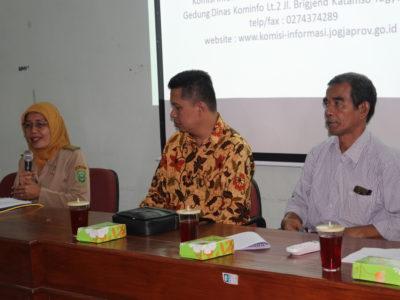 Diskominfo Kabupaten Bantul Melaksanakan Sosialisasi KIM Tingkat Kecamatan di Kecamatan Imogiri