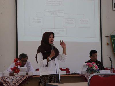 Sosialisasi KIM Tingkat Kecamatan oleh Diskominfo Bantul dilaksanakan di Kecamatan Pundong (10/07)