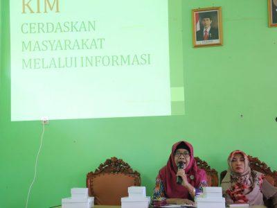 Sosialisasi KIM Tingkat Kecamatan oleh Diskominfo Bantul dilaksanakan di Kecamatan Sanden (06/08)