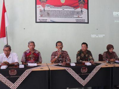Sosialisasi KIM Tingkat Kecamatan oleh Diskominfo Bantul dilaksanakan di Kecamatan Srandakan (08/08)