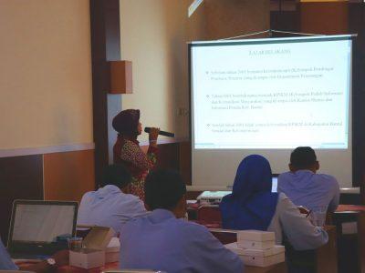 Sosialisasi KIM Tingkat Kecamatan oleh Diskominfo Bantul dilaksanakan di Kecamatan Sewon (13/08)