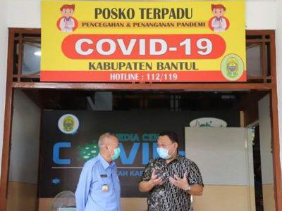 Bantul Tetapkan Status Tanggap Darurat Bencana Covid-19
