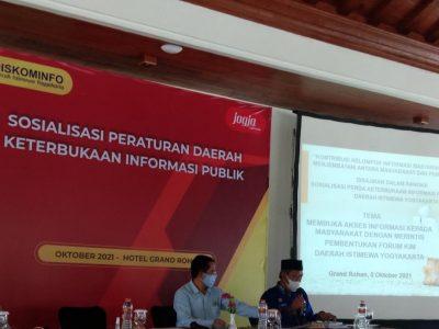 Dinas Kominfo DIY Merintis Pembentukan  Forum Kelompok Informasi Masyarakat (KIM) DIY